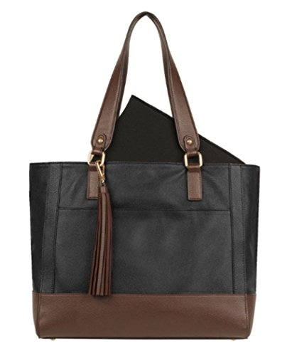 (Wilsons Leather Madison Tote (Onyx))