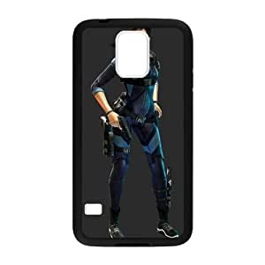 Biohazard Resident Evil Jill Valentine Cell Phone Protector for Cell Phone Protector for Samsung Galaxy S5 Plastic and TPU (Laser Technology)