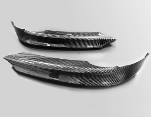 Carbon Fiber Front Splitter Lip for 2006 to 2008 BMW E90 Sedan E91 Wagon 3-Series 320i 325i 330i 325xi 330i (E90 Carbon Fiber Splitters compare prices)