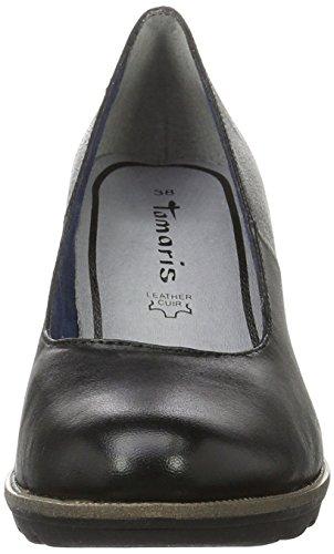 Eu Tamaris 805 Noir Femme black 38 navy Bleu 001 Escarpins 22425 qFXwRWZp0F
