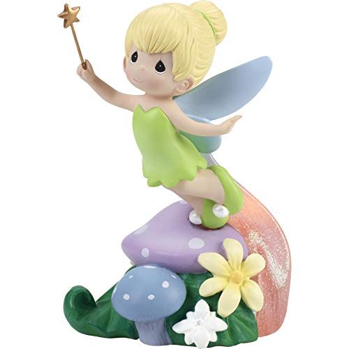 Precious Moments Disney Showcase Tinker Bell With LED Pixie Dust Trail Resin Figurine 182474
