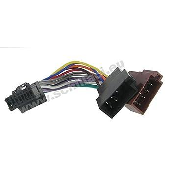 PIONEER Adapter Anschluss Kabel Kabelbaum ISO 16 pin: Amazon.de ...