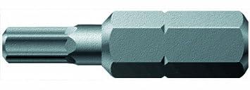 WERA-WERK HERMANN WERNER GMBH & CO.KG  Bit Innen-6KT 8mm 840/1Z L.25mm 0, 6 cm (0, 25 Zoll) 6KT zä hhart WERA Abtrieb HexPlus 05056335001