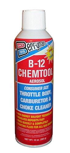 Berryman Products 0110 B-12 Chemtool Carburetor Choke and Throttle Body Cleaner 10 oz.