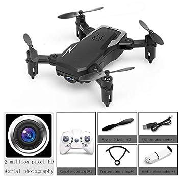 ZJYYD Drone con cámara, Control de altitud, sin Cabeza 3D 360 ...