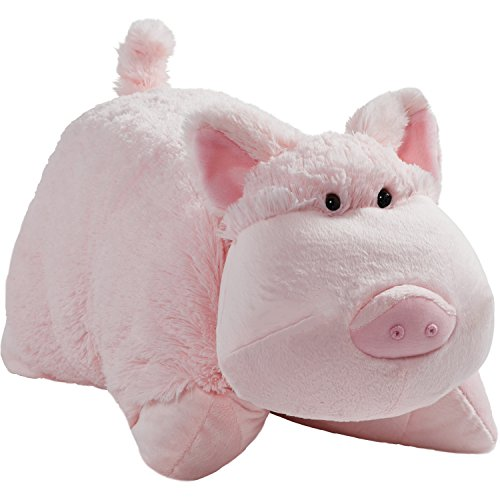 Pillow Pets Signature, Wiggly Pig, 18