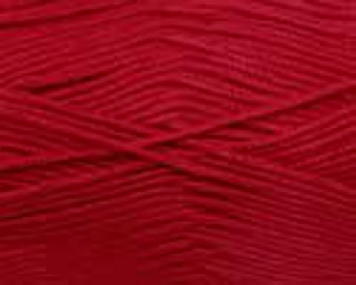 King Cole Smooth DK Knitting Wool 100% Acrylic 100g Ball (Claret - 865) ()