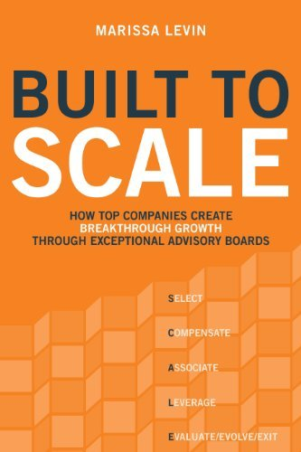 Built To Scale  How Top Companies Create Breakthrough Growth Through Exceptional Advisory Boards