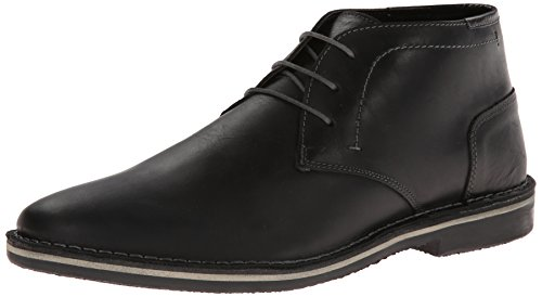 - Steve Madden Men's Harken Chukka Boot, Black, 11 M US