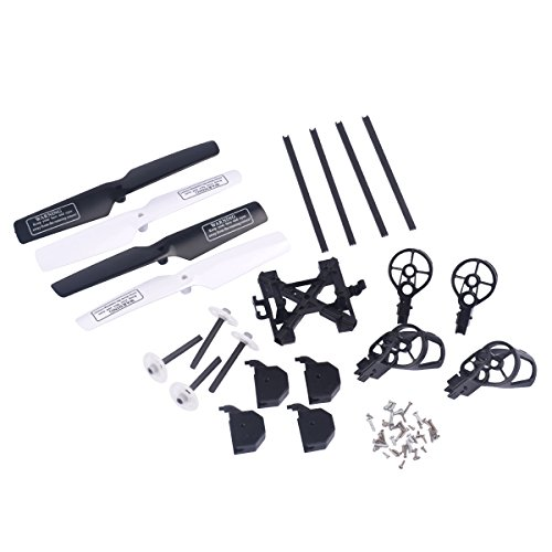 YouCute Spare Part Kit for UDI U818A U818A-1 Rc Quadcopter Drone Blade Gear by RC helicopter