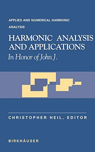 Harmonic Analysis and Applications: In Honor of John J. Benedetto (Applied and Numerical Harmonic Analysis)