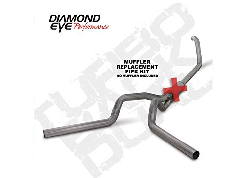 Diamond Eye K4320S-RP Turbo-Back Exhaust Kit (Diamond Eye 4' Exhaust)