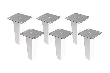 6 X Möbelfüße Aus Holz Für Kallax Regal Von Ikeamöbelbeine Regalfuß