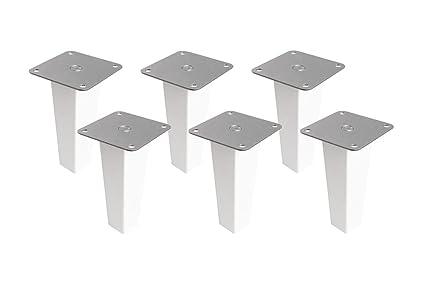 Lot De 6 Pieds De Meuble En Bois Pour étagère Kallax Ikea