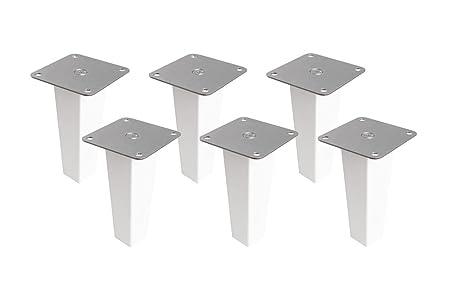 6 X Mobelfusse Aus Holz Fur Kallax Regal Von Ikea Mobelbeine Regalfuss