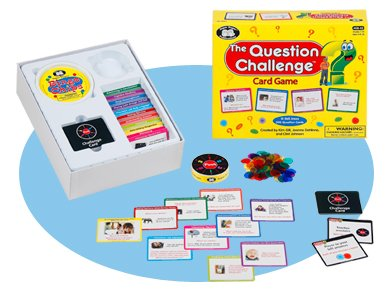 (Super Duper Publications Question Challenge Electronic Spinner Game Educational Learning Resource for Children)