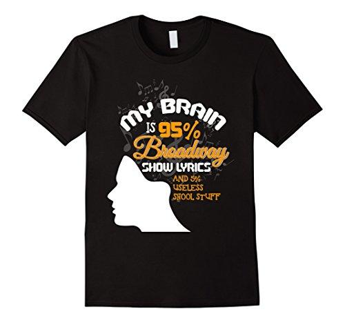 Funny My Brain is 95% Broadway Show Lyrics (Broadway Halloween Shows)
