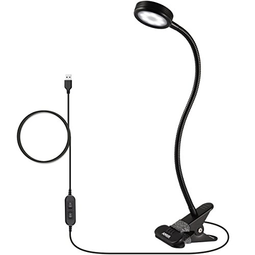Suggested Office Layout (AMIR Clip on Book Light, Eye Care Reading Light, 2-Level Dimmer & 2-Mode Light Color Switchable with Flexible Arm, for Headboard, Desk, Bedstead (Need Plugged In to Work, AC Adapter Not Included))