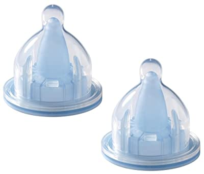 The First Years 2 Pack Breastflow Stage 1 Slow Flow Nipple by TOMY