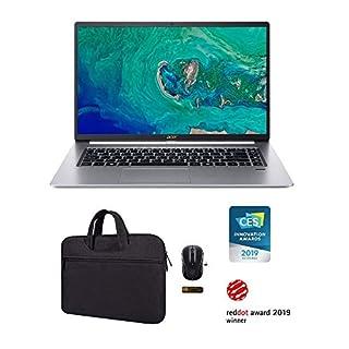 New_Acer_Swift 5 Ultra-Thin & Lightweight 15.6 FHD Touchscreen Laptop, i7-8565U, 16GB RAM, 512GB PCIe SSD, Backlit Keyboard, Bluetooth 5.0, USB 3.1 Gen 2 Type-C, Windows 10 with Extra Accessories