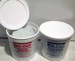 Magic Sculpt 1 Lb. Epoxy Clay - Natural