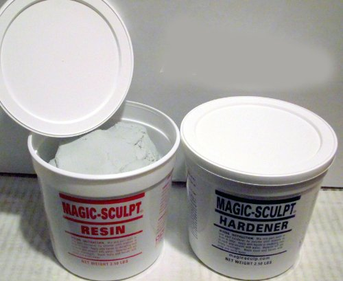 Magic Sculpt 5 Lb. Epoxy Clay - Natural