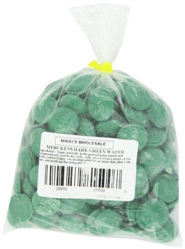 Merckens Chocolate Wholesale - Merckens Coatings, Dark Green, 1 pound