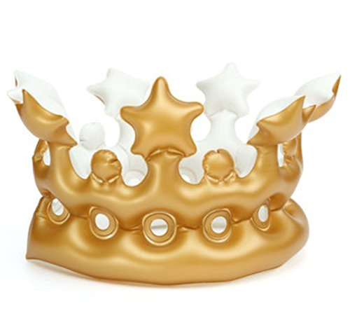 Kindergarten Headwear Toys Party Decoration Inflatable Imperial Crown By Superjune