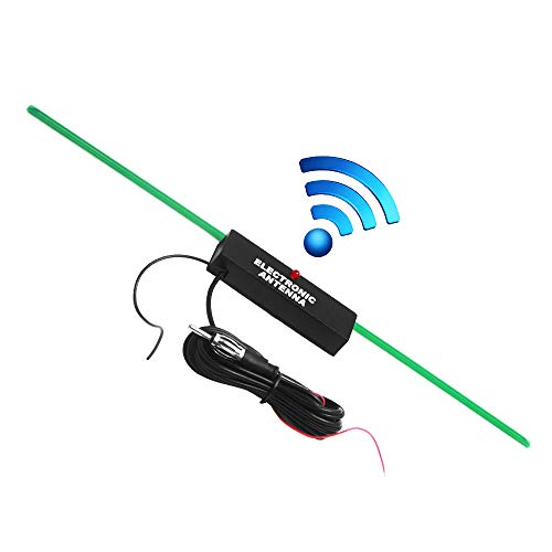Hidden Amplified Antenna- Auto Car Stereo Radio FM AM kit for Motor Vehicles, Golf carts, Boats, Motorcycles, ATV Car Stereo Antenna(PCB is Green)