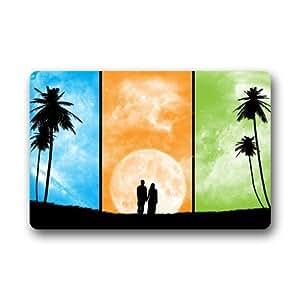 """Customize Machine-washable Doormat -- Love Custom Durable Floor Mat/Gate Pad for Indoor/Outdoor 23.6""""(L) x 15.7""""(W)"""