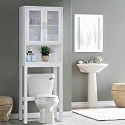 Wooden Over The Toilet Cabinet Storage,B...