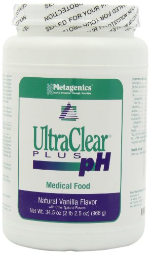 Metagenics, UltraClear PLUS pH, Natural Vanilla Flavor, 34.5oz, Health Care Stuffs