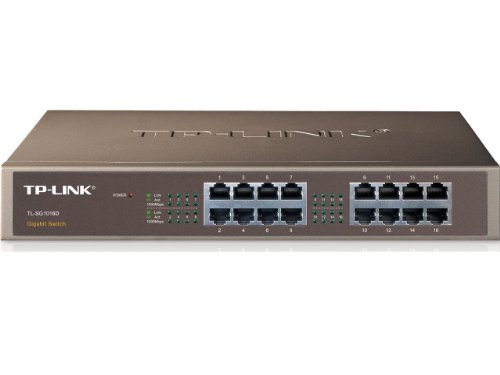 TL-SG1016D 16-Port Gb Switch TP-LINK Switch Networking Accessory TP-LINK