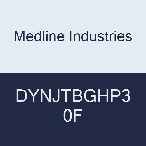 Medline DYNJTBGHP30F High-Pressure Tubing Fixed Luer Lock,