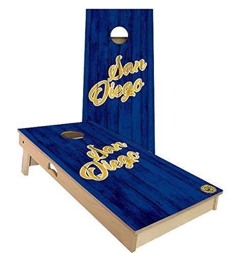 Skip's Garage San Diego Vintage Baseball Cornhole Board Set - 2x3 (24