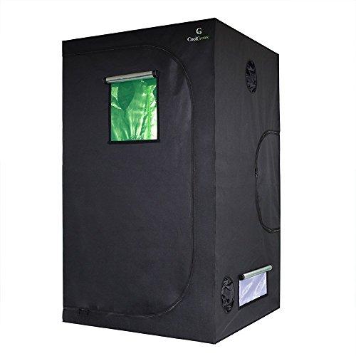 CoolGrows 48'x48'x80' Indoor Mylar Hydroponics Grow Tent