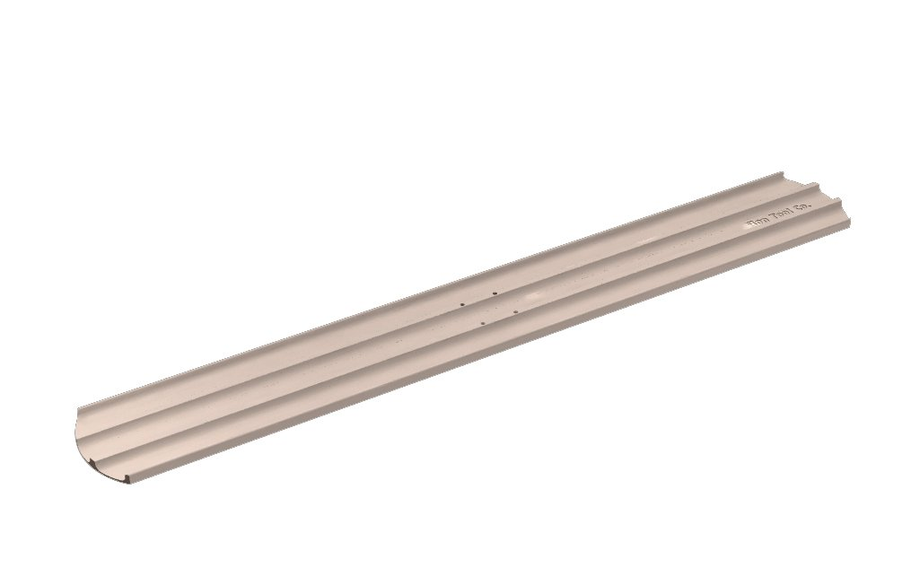 Bon 12-962 45-Inch by 8-Inch Round End Magnesium Concrete Bull Float