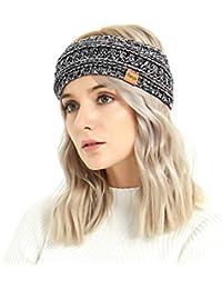 e37240de15f Winter Warm Cable Knit headband Head Wrap Ear Warmer for Women by Aurya