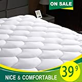 HEPERON Queen Quilted Fitted Mattress Pad Cover...