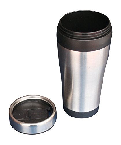 Coffee Buddy 16 oz Travel Coffee Mug Stainless Steel Shell B