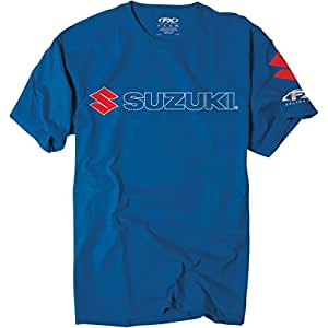 Factory Effex 'Suzuki' Team T-Shirt (Blue, Large)