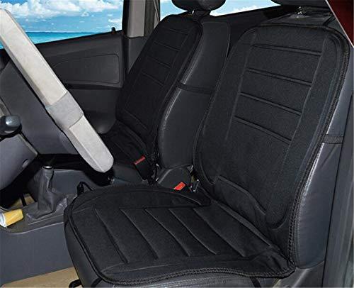 SPP PANDA Car Seat Cushion Single Seat Electric Heating Pad Car 12v 36-45w 25°C-60°C Composite Fiber + Non-Slip Cloth 9748cm Line Length: 134cm - C60 Car