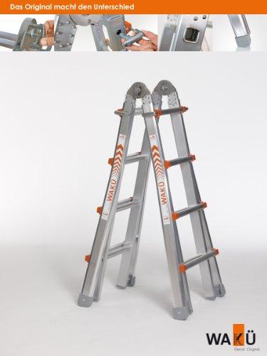 Teleskopleiter 1,29 m - 4,20 m, das Original