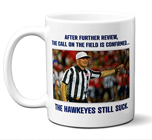 Iowa Hawkeyes Suck Mug.