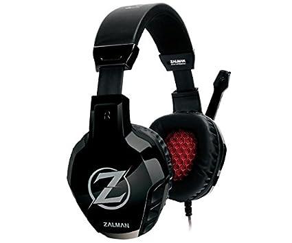 Zalman ZM-HPS300 auricular con micrófono Binaural Diadema Negro - Auriculares con micrófono (PC/Juegos, 2.0 canales, Binaural, Diadema, Negro, ...