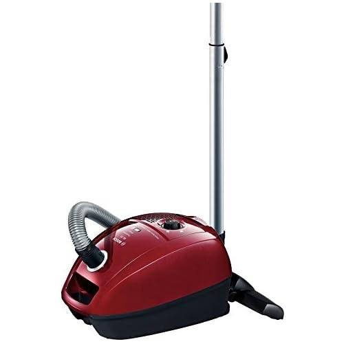 chollos oferta descuentos barato Bosch BGL 3A234 Aspiradora de trineo 79 dB 600 W 4 l color rojo y negro
