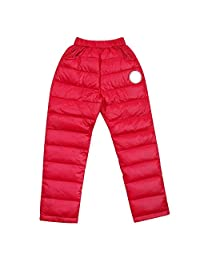 Kids Pants,amazingdeal Children Duck Down Winter Thick Warm Trousers