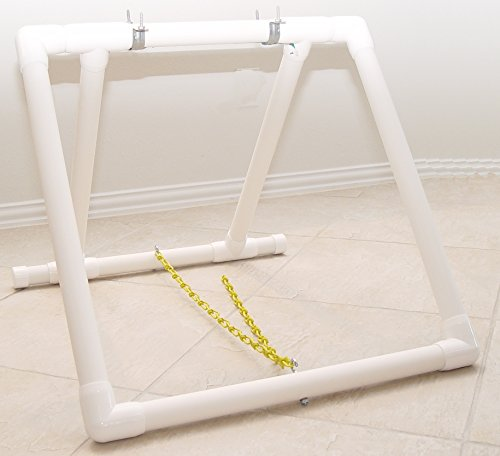 (Adjustable Teeter Base SeeSaw Base - Dog Agility Equipment- BOARD NOT INCLUDED!)
