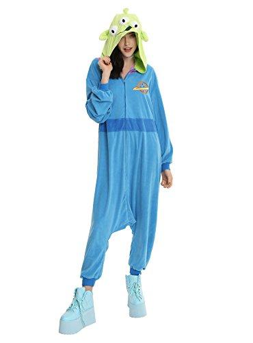 Toy Story Disney Pixar Alien Union Suit Onsie Cosplay Pajamas by Toy Story