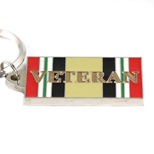 - Iraqi Freedom Veteran Keyring Military Keychains Patriotic Gifts Men Women Vets